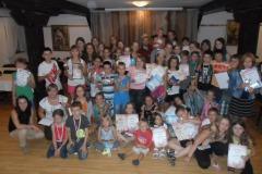 Obóz taneczno-akrobatyczno-pływacki - Ramsowo 2012